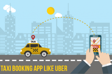 Taxi Booking App Like Uber