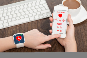 wearable devices with the mHealth app